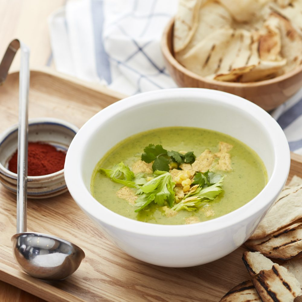 Not Your Grandmother's Celery Soup
