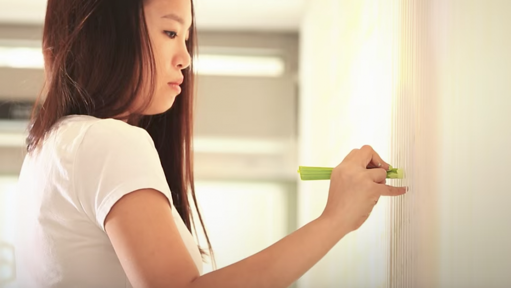 painting with celery