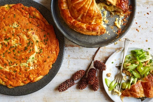 camembert pithivier with celery