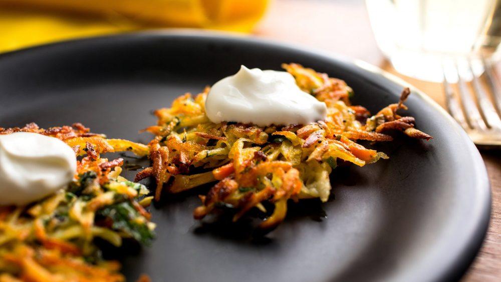 hanukkah parsnip potato latke